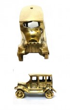 Decorative Brass Car (Pair)