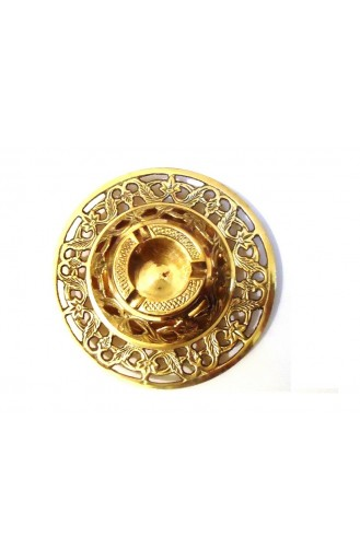 Decorative Brass Metal Ashtray