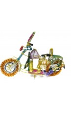 Decorative Brass Colorful Bike