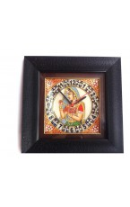 Marble Wall Clock - 9 X 9 Inch