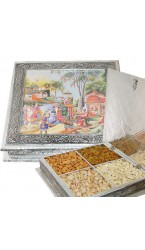 Sculpture Half  Minakar Dry Fruit box