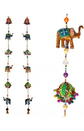 Elegant Elephant Door Hanging (Pair)