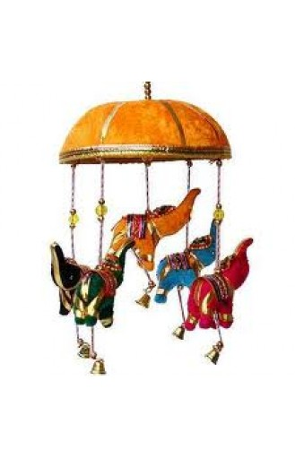 Jaipuri Elephant Pipe Door Hanging