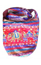 Jaipuri Royal Marriage Picture Embroidery Bag