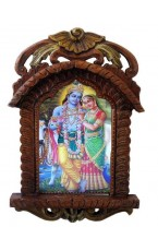 Wood Carved Frame - Jarokha